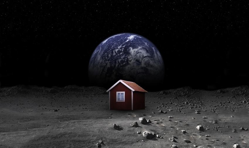 Moonhouse, la prima casa sulla luna