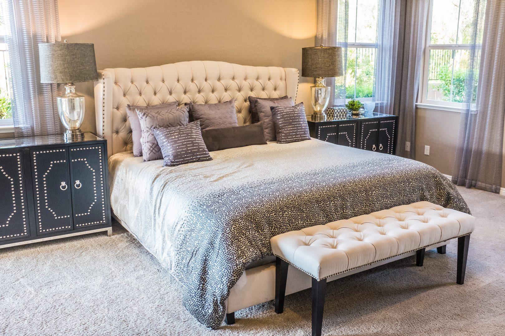 9 combinazioni di colore per la vostra camera da letto.