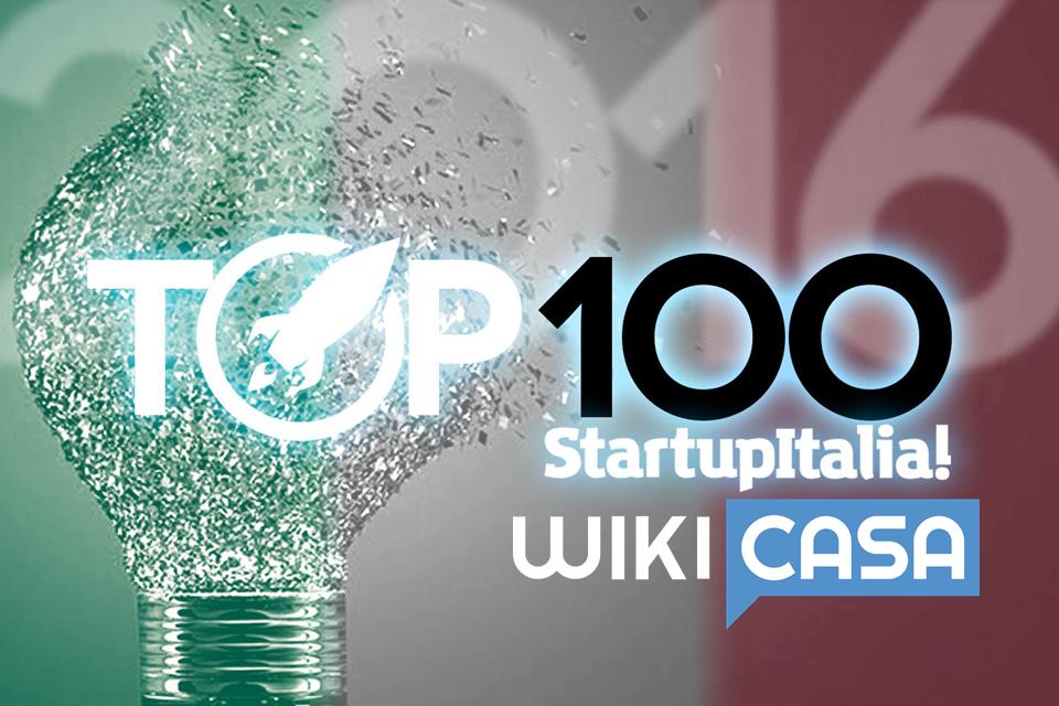 WikiRe tra le migliori 100 startup italiane