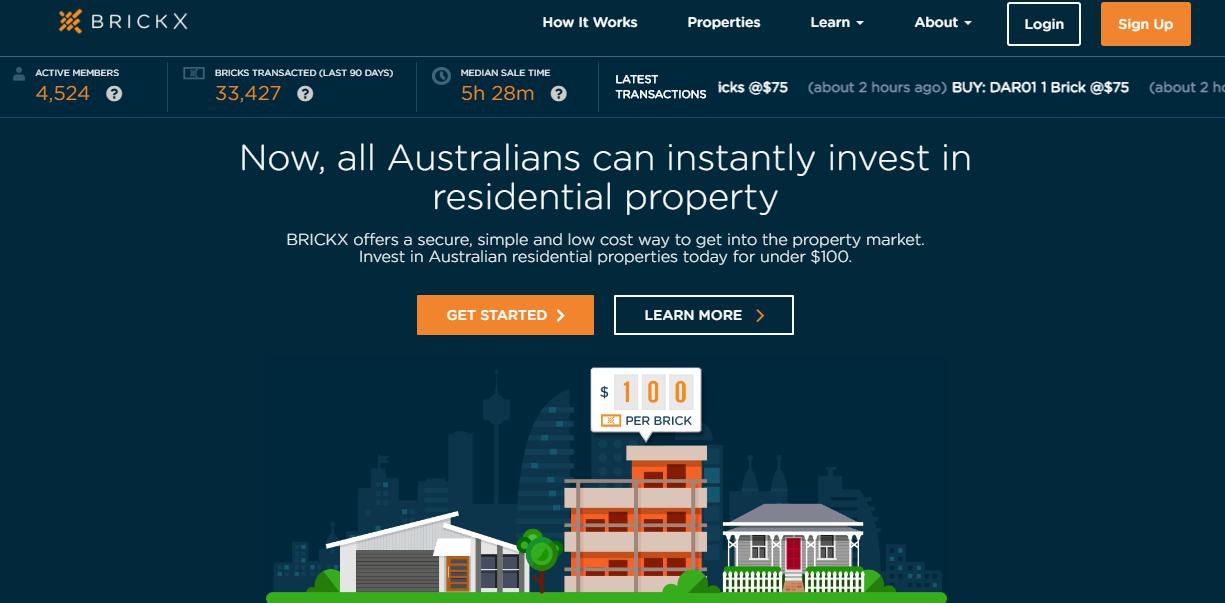 Brickx, la piattaforma australiana che permette ai giovani di investire nell'immobiliare.