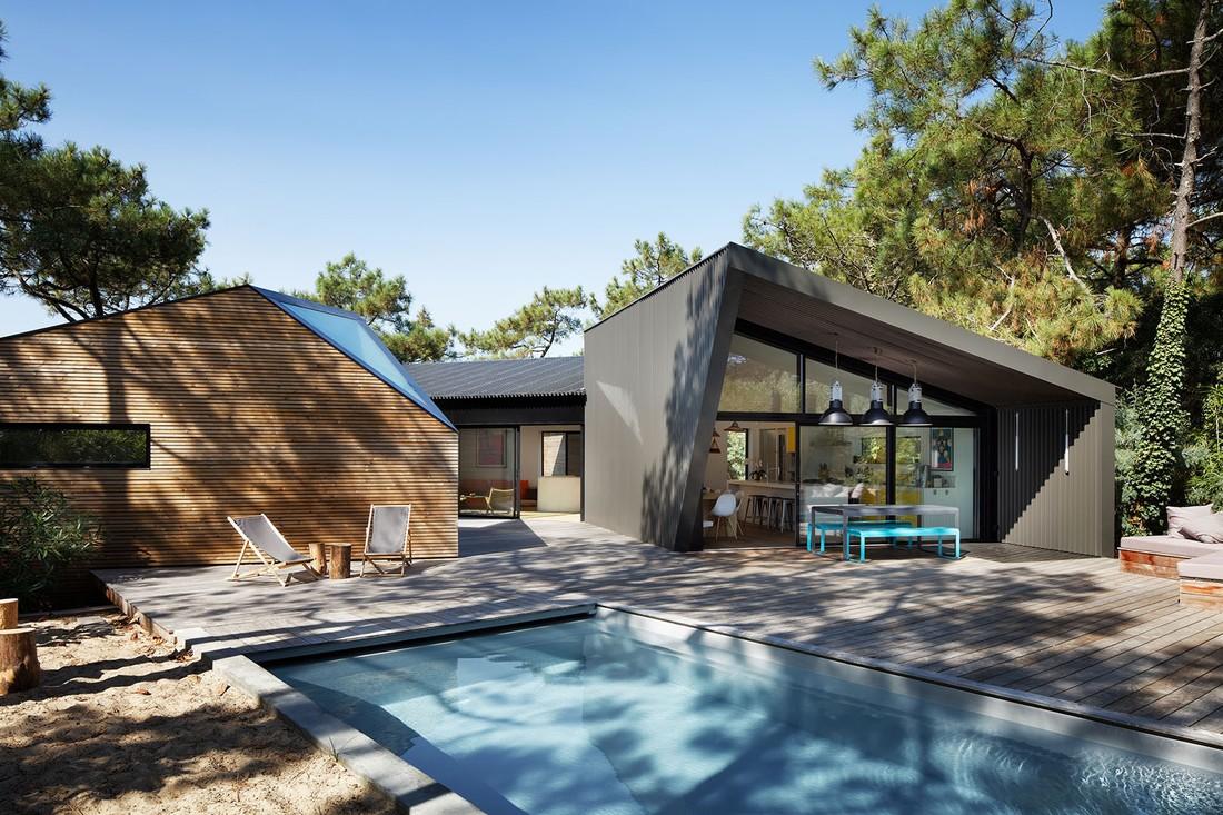 A Cap Ferret una casa vacanze ispirata ai capanni delle spiagge francesi