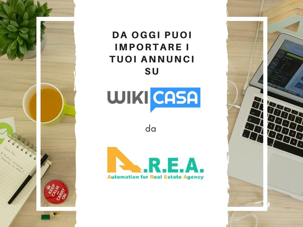 Wikicasa e A.R.E.A. 5: nuova partnership per il portale dei professionisti