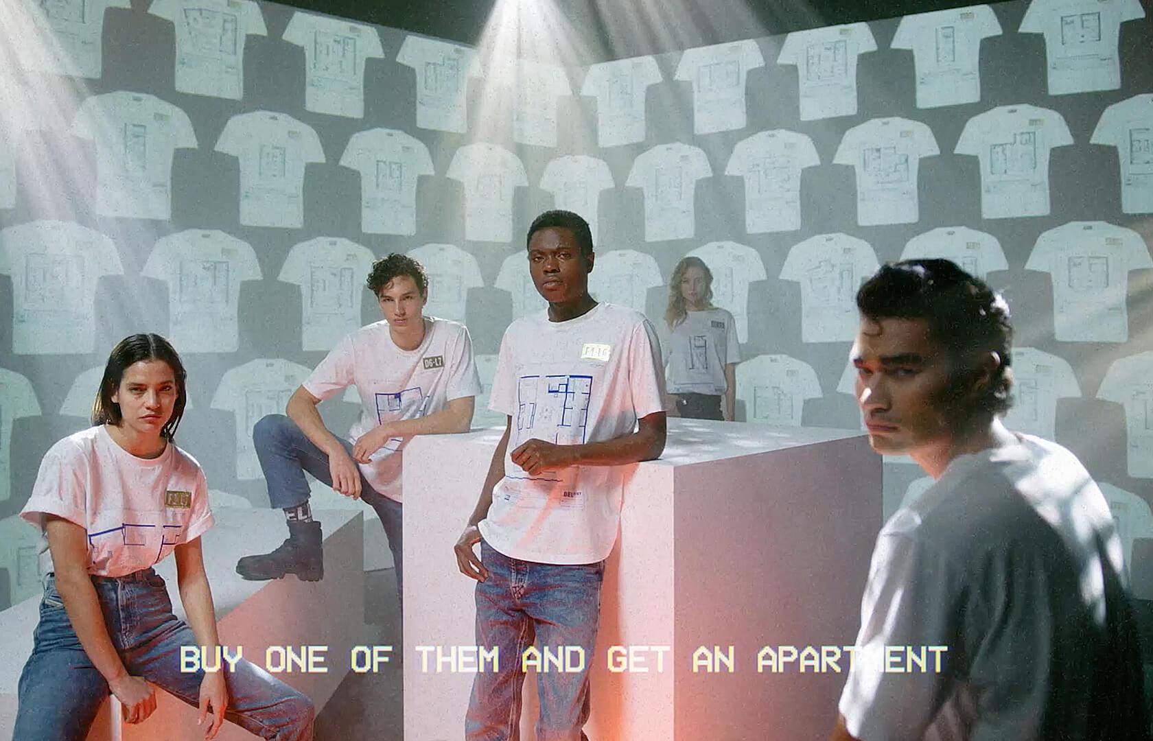 Acquista una maglietta e ottieni un appartamento: la nuova campagna di Diesel